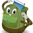 School Bag — Stockfoto