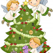 Royalty-Free Stock Photo: Christmas Angels