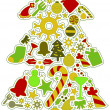 Foto de Stock  : Christmas Icons