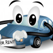 Car For Rent — Stock Photo