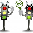 Traffic Lights — Stock Photo #7734450