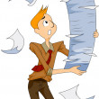 Stacks of Papers — Stock Photo