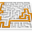 Arrow Maze - Stock Photo