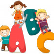 ABC Kids — Foto Stock
