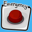 Emergency Button — Stock Photo #7735197