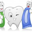 Stock Photo: Dental Products