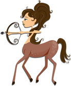 Sagittarius — Stock Photo