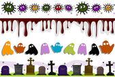 Halloween Borders — Stock Photo