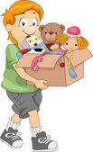 Box of Toys — Stock Photo