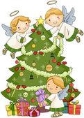 Noel angels — Stok fotoğraf