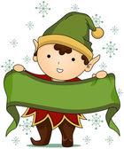 Christmas Elf — Stock Photo