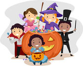 Halloween Kids — Stock Photo