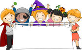 Halloween Banner — Stock Photo