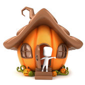 Pumpkin House — Stock Photo