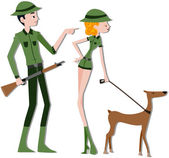 Safari Rangers — Stock Photo