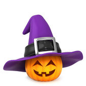Pumpkin Witch — Stock Photo