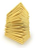 Pile of Folders — Stock Photo