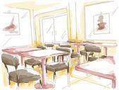 Kavárna — Stock fotografie