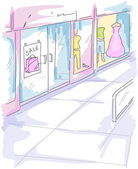 Mall — Stock Photo