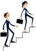 Business Ladder — Stock Photo