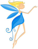 Girl Fairy — Stock Photo