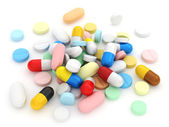 什锦的药品 — 图库照片