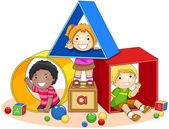 Toy Blocks — Fotografia Stock