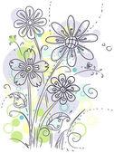 Sanatsal çiçek — Stok fotoğraf