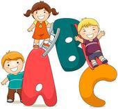 ABC Kids — Stock Photo