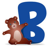 B for Bear — Stock Photo