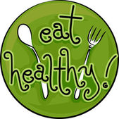 Eat Healthy — Stock Photo