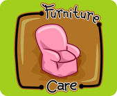 Furniture Care — Stock Photo