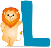 L for Lion — Stock Photo