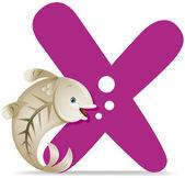X для Рентген рыбы — Стоковое фото