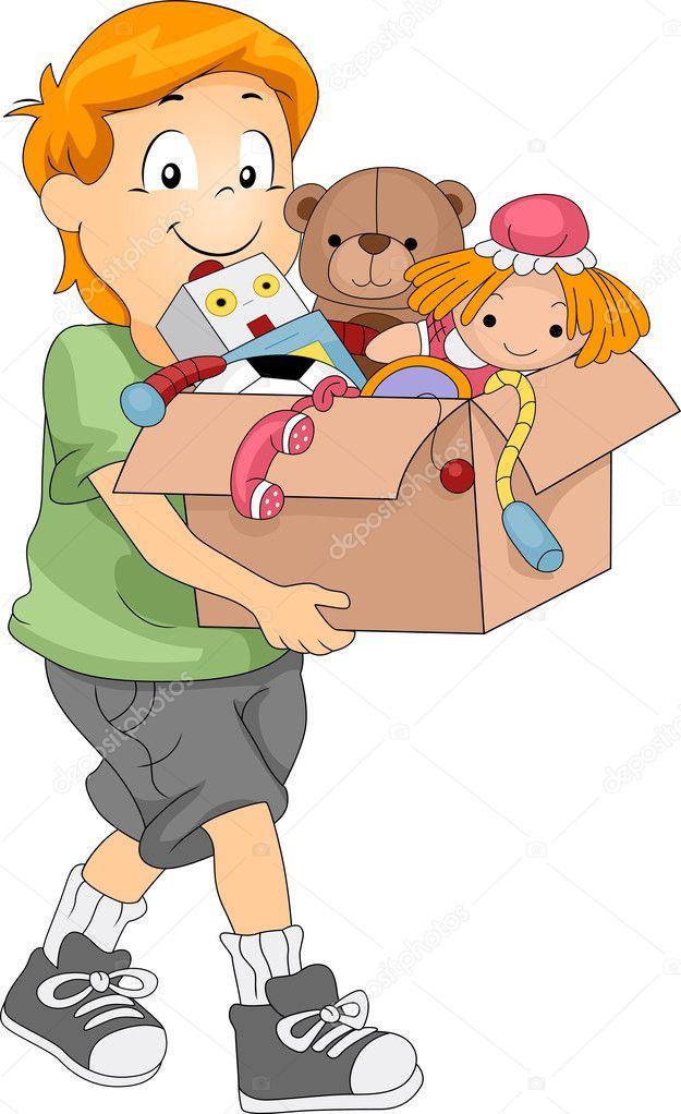 Kiste spielzeug — stockfoto lenmdp