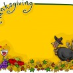 Thanksgiving Background — Stock Photo