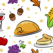 Royalty-Free Stock Photo: Thanksgiving Background