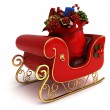 Christmas Sleigh — Stock Photo #7892728