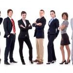 Happy business team — Stock Photo