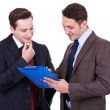 Two business discussing — Stock Photo
