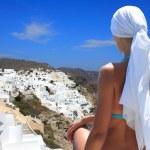 Santorini island Greece — Stock Photo #7261840