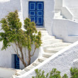 Romantic holidays - Santorini resorts — Stock Photo