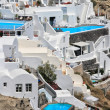 Stock Photo: View of Fira town - Santorini