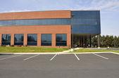 Modern brick office building — Stock Photo