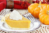 Sweet Potato or Pumpkin Pie — 图库照片