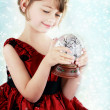 Child with Snow Globe — Stock Photo #7504544