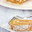 Holiday Pumpkin Roll — Stock Photo #7716384