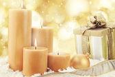 Candele di Natale — Foto Stock