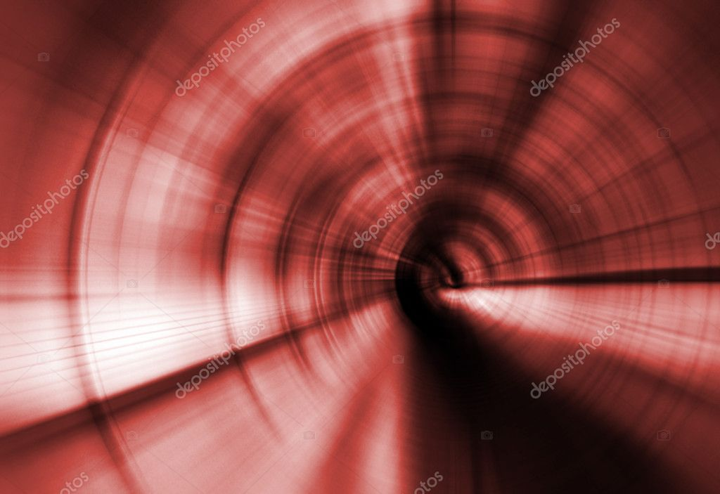 Abstract red background representing speed and motion  Stock Photo #6837174
