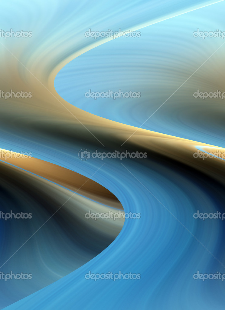 Abstract blue background representing speed and motion — Stock Photo #6837198